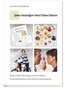 """Viktor Jörgens: Türkisches Patientenbuch """"Therapie ohne Insulin"""" - Seker hastaligimi nasil tedavi ederim?, Buch"""