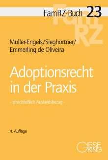 Gabriele Müller-Engels: Adoptionsrecht in der Praxis, Buch