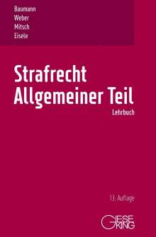 Ulrich Weber: Strafrecht, Allgemeiner Teil, Buch
