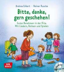 Andrea Erkert: Bitte, Danke, Gern geschehen!, Buch