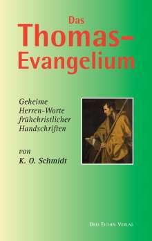 K. O. Schmidt: Das Thomas-Evangelium, Buch