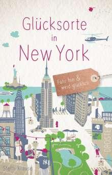 Steffi Krause: Glücksorte in New York, Buch