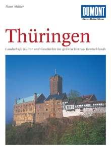 Hans Müller: DuMont Kunst-Reiseführer Thüringen, Buch