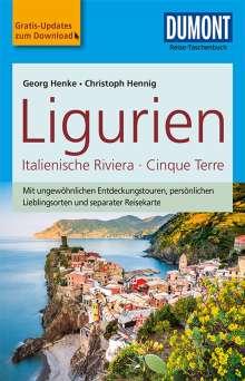 Christoph Hennig: DuMont Reise-Taschenbuch Reiseführer Ligurien, Italienische Riviera,Cinque Terre, Buch