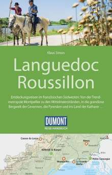Klaus Simon: DuMont Reise-Handbuch Reiseführer Languedoc Roussillon, Buch