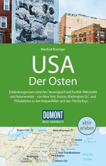 Manfred Braunger: DuMont Reise-Handbuch Reiseführer USA, Der Osten, Buch