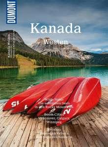 Manuela Imre: DuMont Bildatlas 191 Kanada Westen, Buch