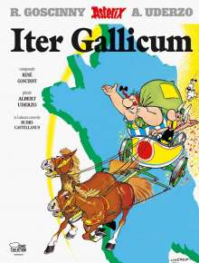 Asterix - Iter Gallicum. Tour de France, lateinische Ausgabe, Buch