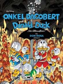 Walt Disney: Onkel Dagobert und Donald Duck - Don Rosa Library 06, Buch