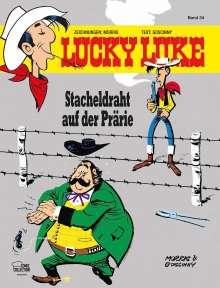Morris: Lucky Luke 34 - Stacheldraht auf der Prärie, Buch