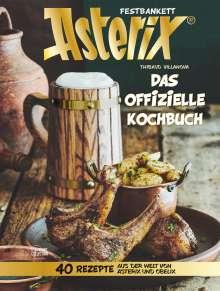 Thibaud Villanova: Asterix Festbankett, Buch