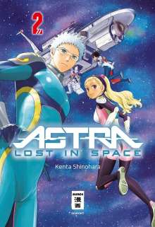 Kenta Shinohara: Astra Lost in Space 02, Buch