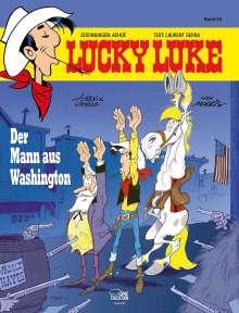 Achdé: Lucky Luke 84 - Der Mann aus Washington, Buch
