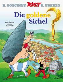 René Goscinny: Asterix 05: Die goldene Sichel, Buch