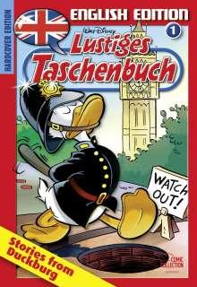 Walt Disney: Lustiges Taschenbuch English Edition 01, Buch