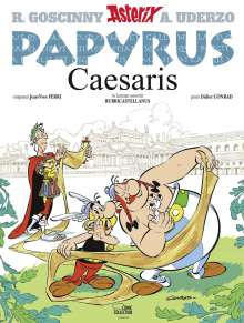 Jean-Yves Ferri: Asterix latein 25 - Papyrus Caesaris, Buch