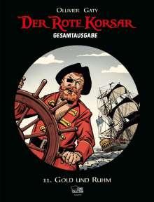 Christian Gaty: Der Rote Korsar Gesamtausgabe 11, Buch