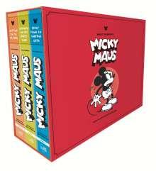 Walt Disney: Floyd Gottfredson Library - Micky Maus im Tal des Todes, Buch