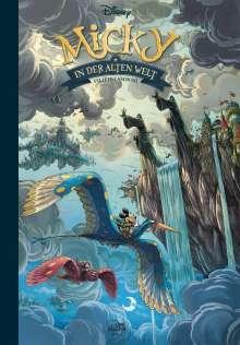Walt Disney: Micky in der alten Welt, Buch