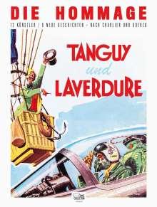 Albert Uderzo: Tanguy und Laverdure - Die Hommage, Buch