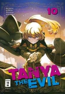 Chika Tojo: Tanya the Evil 10, Buch