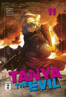 Chika Tojo: Tanya the Evil 11, Buch