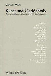 Cordula Meier: Kunst und Gedächtnis, Buch