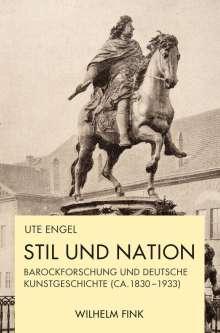 Ute Engel: Stil und Nation, Buch