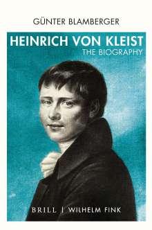 Günter Blamberger: Heinrich von Kleist, Buch