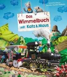 Dorothee Haentjes-Holländer: Das Wimmelbuch mit Katz und Maus, Buch