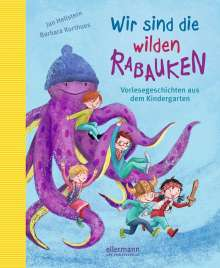 Jan Hellstern: Wir sind die wilden Rabauken!, Buch