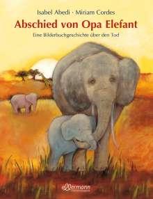 Isabel Abedi: Abschied von Opa Elefant, Buch