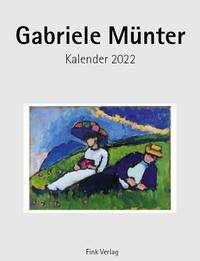 Gabriele Münter 2022. Kunstkarten-Einsteckkalender, Kalender