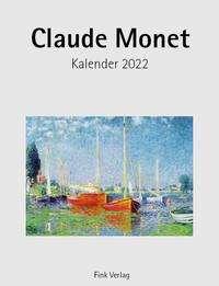 Claude Monet 2022. Kunstkarten-Einsteckkalender, Kalender