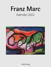 Franz Marc 2022. Kunstkarten-Einsteckkalender, Kalender