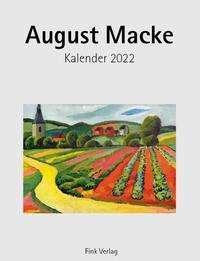 August Macke 2022. Kunstkarten-Einsteckkalender, Kalender