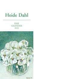 Heide Dahl Kunst-Postkartenkalender 2022, Kalender