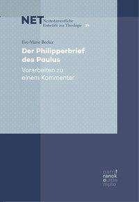 Eve-Marie Becker: Der Philipperbrief des Paulus, Buch