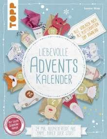 Susanne Wicke: Liebevolle Adventskalender (kreativ.kompakt), Buch