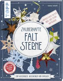 Gudrun Schmitt: Zauberhafte Faltsterne (kreativ.kompakt), Buch