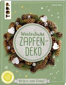 Kornelia Milan: Winterliche Zapfendeko (kreativ.kompakt), Buch