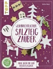 Dörthe Kirsten Meyer: Weihnachtlicher Salzteigzauber (kreativ.kompakt), Buch