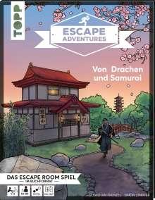 Simon Zimpfer: Escape Adventures - Von Drachen und Samurai, Buch