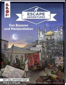 Simon Zimpfer: Escape Adventures - Von Basaren und Meisterdieben, Buch