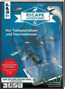 Sebastian Frenzel: Escape Adventures AR - Augmented Reality. Von Tiefseeschätzen und Tauchstationen, Buch