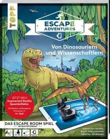 Sebastian Frenzel: Escape Adventures AR - Augmented Reality. Von Dinosauriern und Wissenschaftlern, Buch