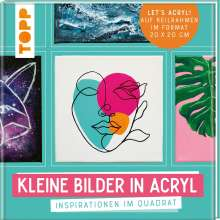Sabine Türk: Kleine Bilder in Acryl, Buch