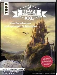 Simon Zimpfer: Escape Adventures XXL - Von Fabelwesen und epischen Schlachten. Das Escape-Room-Spiel im Buchformat., Buch