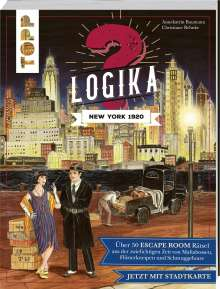 Annekatrin Baumann: Logika - New York 1920: Logikrätsel für zwischendurch von leicht bis schwer, Buch