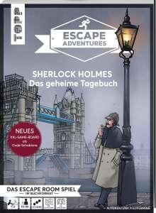 Autorenteam Pfeffermind: Escape Adventures - Sherlock Holmes: Das geheime Tagebuch (NEUE Codeschablone für mehr Rätselspaß), Buch